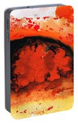 Vibrant Abstract Art - Leap Of Faith By Sharon Cummings Portable Battery Charger