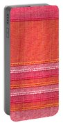 Vibrant Cloth Portable Battery Charger by Tom Gowanlock