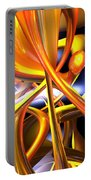Vibrant Love Abstract Portable Battery Charger
