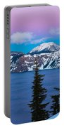 Vibrant Winter Sky Portable Battery Charger