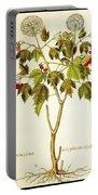 Viburnum Opulus Portable Battery Charger