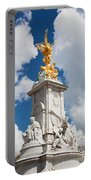 Victoria Memorial Next To Buckingham Palace London Uk Portable Battery Charger