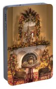 Victorian Christmas By The Fire Portable Battery Charger