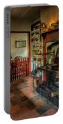 Victorian Fire Place Portable Battery Charger by Adrian Evans