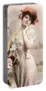 Victorian Floral Market Portable Battery Charger