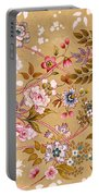 Victorian Floral Pattern Phone Case Portable Battery Charger