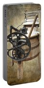 Victorian Wash Machine Portable Battery Charger