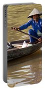 Vietnamese Boatwoman 01 Portable Battery Charger
