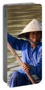 Vietnamese Boatwoman 02 Portable Battery Charger