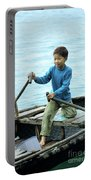Vietnamese Boy Portable Battery Charger