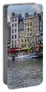Vieux Bassin Of Honfleur Portable Battery Charger