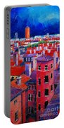Vieux Lyon Rooftops  Portable Battery Charger