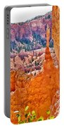 View At Beginning Of Navajo Trail In Bryce Canyon National Park-utah Portable Battery Charger