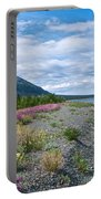 View Four Kluane Lake From Cottonwood Campground Near Destruction Bay-yk Portable Battery Charger