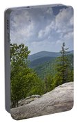 View From A Mountain In A Vermont Portable Battery Charger