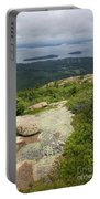 View From Cadillac Mountain - Acadia Park Portable Battery Charger