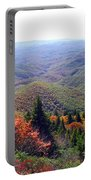 View From Devil's Courthouse Mountain Portable Battery Charger