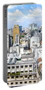 View From Edificio Martinelli - Sao Paulo Portable Battery Charger