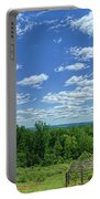 View From Monticello Portable Battery Charger