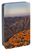 View From Mount Sinai Portable Battery Charger