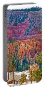 View From Queen's Garden Trail In Bryce Canyon National Park-utah Portable Battery Charger