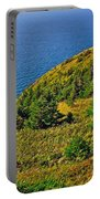 View From Skyline Trail In Cape Breton Highlands Np-ns Portable Battery Charger