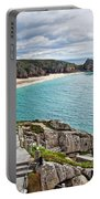 View From The Minack Theatre Portable Battery Charger
