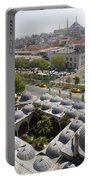 View From The Valens Aqueduct In Istanbul Portable Battery Charger