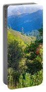 View From Trail To West Point Inn On Mount Tamalpais-california  Portable Battery Charger
