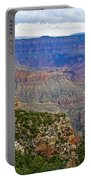 View From Walhalla Overlook On North Rim Of Grand Canyon-arizona  Portable Battery Charger