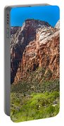 View From Weeping Rock Portable Battery Charger