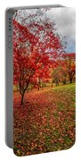 View Of Autumn Portable Battery Charger