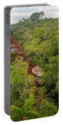 View Of Cano Cristales In Colombia Portable Battery Charger
