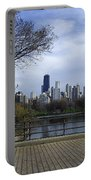 View Of Chicago Portable Battery Charger
