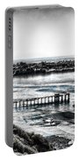 View Of La Jolla From Torrey Pines Cliffs Portable Battery Charger