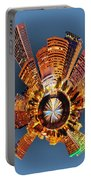 View Of Portland Oregon Skyline Portable Battery Charger