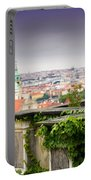 View Of Prague Portable Battery Charger