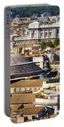 View Of Rome's Rooftops Portable Battery Charger