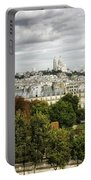 View Of Sacre Coeur From The Musee D'orsay Portable Battery Charger