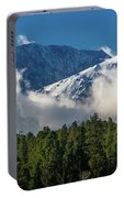 View Of San Juan Mountains With Clouds Portable Battery Charger