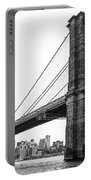 View Of The Brooklin Bridge Portable Battery Charger