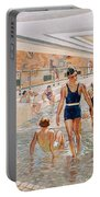 View Of The First Class Swimming Pool Portable Battery Charger