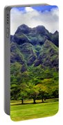 View Of The Koolau Range Portable Battery Charger