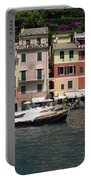 View Of The Portofino, Liguria, Italy Portable Battery Charger