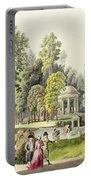 View Of The Temple Of Diana At Erlaw Portable Battery Charger