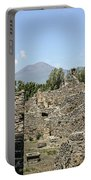 View Of Vesuvius Portable Battery Charger