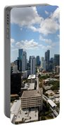 View Over Brickell Miami Portable Battery Charger