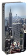 View Over Manhattan I Portable Battery Charger