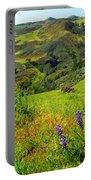 View Over Neverland Portable Battery Charger