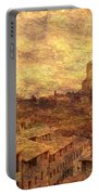View Over Siena And San Domenico Portable Battery Charger